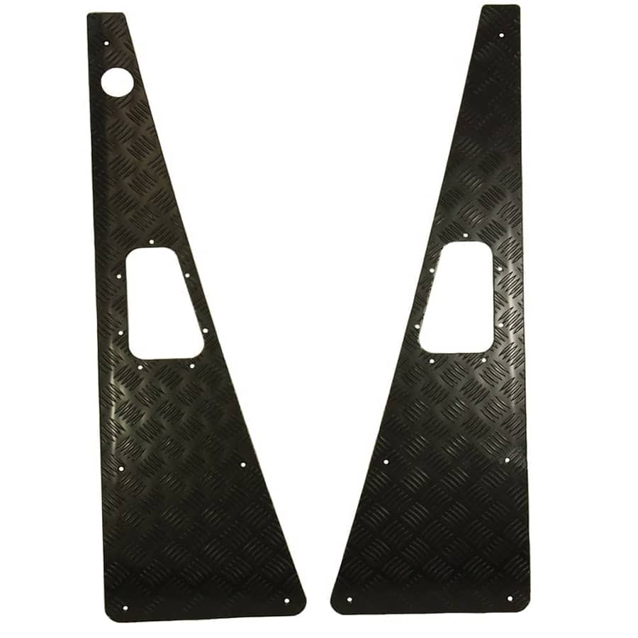 LS7764 Chequer Wing Top Kit RH Aerial Black